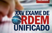 XXV Exame de Ordem: Comunicado sobre suspensão da aplicação da 2ª fase