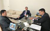 OAB recebe visita de secretário da Sejuc e cobra demandas da advocacia