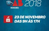 Eleição da OAB Roraima para o triênio 2019/2021 acontece no dia 23 de novembro