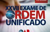 Primeira fase do XXVII Exame de Ordem em Roraima terá mais de 400 candidatos