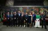 Presidente da OAB/RR prestigia posse de Cilene Lago Salomão na presidência do TCE/RR