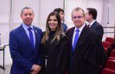 Francisco Guimarães e e Rozane Ignácio tomam posse como juízes eleitorais do TRE-RR