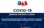 ENERGIA ELÉTRICA E ÁGUA - OAB Roraima pede redução de tarifa, suspensão de cortes e  faturas e que débitos sejam parcelados após a pandemia