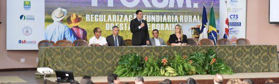 FÓRUM:Instituições apresentam ações e gargalos para regularização fundiária
