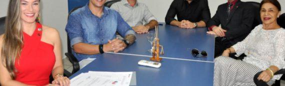 OAB/RR e ESA-Roraima fazem visita institucional ao reitor da UERR