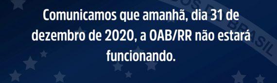 INFORME SOBRE EXPEDIENTE NESTE DIA 31 DE DEZEMBRO DE 2020