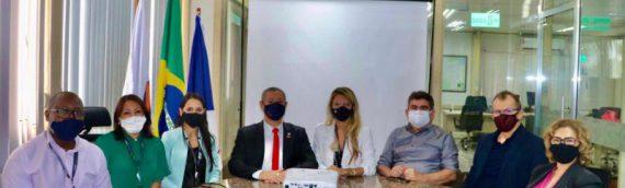 Comitiva da OAB Roraima é recebida na assessoria jurídica da Roraima Energia