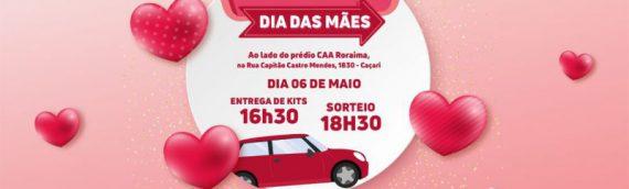 MÃES ADVOGADAS: OAB Roraima realiza especial do Dia das Mães em drive-thru