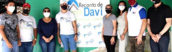 Comitiva da OAB Roraima visita Centro Terapêutico Recanto de Davi e inicia campanha de arrecadação de alimentos